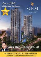 Gem Residences new launch condo for Sale at Toa payoh