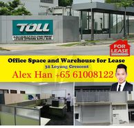 Office space and warehouse at Loyang crescent for lease rent