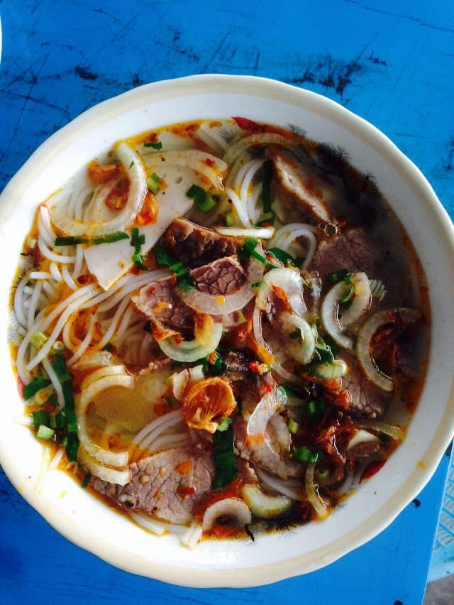 Beef rice noodles.