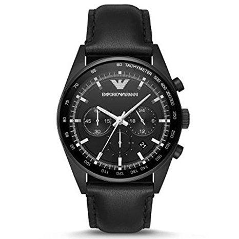 EMPORIO-ARMANI-AR6093-Chronograph-Black-Dial-Mens-Watch