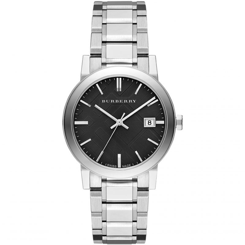 Burberry-Mens-BU9001-Large-Check-Stainless-Steel-Bracelet