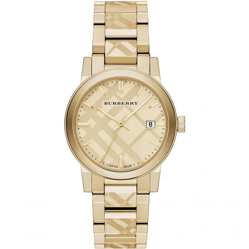Burberry-Unisex-Swiss-Gold-Ion-plated-Stainless-Steel-38mm-BU9038