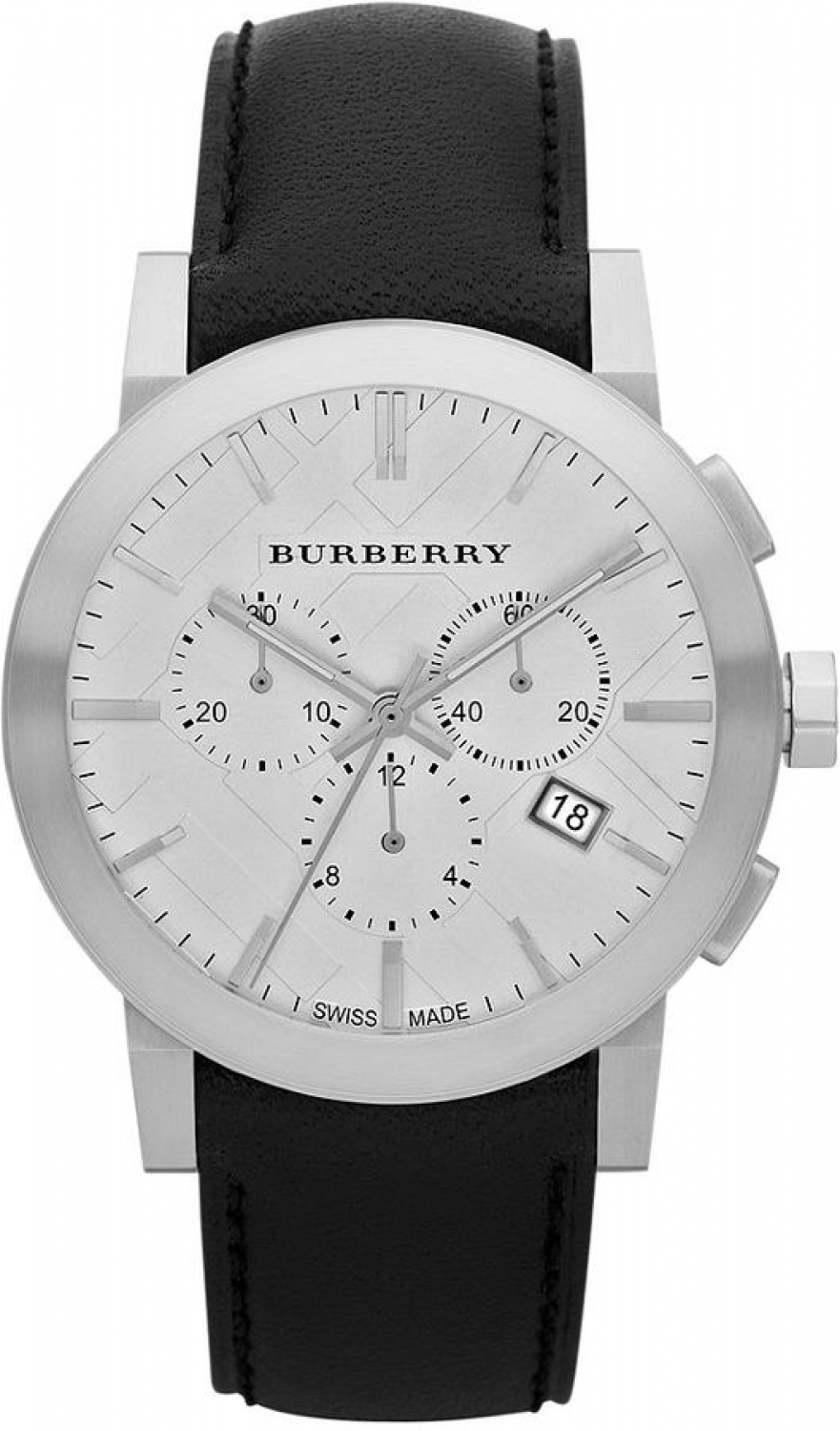 Burberry-BU9355-Silver-Dial-Chronograph-Black-Leather-Strap-Mens-