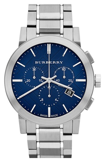 Burberry-Chronograph-Blue-Dial-Stainless-Steel-Mens-BU9363