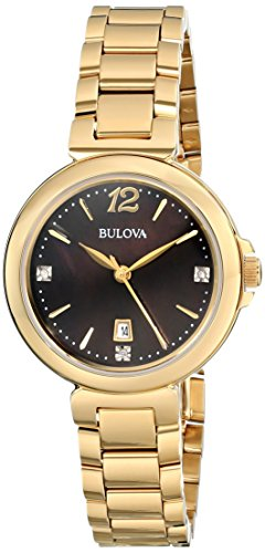 Bulova-Womens-97P107-Diamond-Gallery-Analog-Display-Japanese-Quartz-Yellow-Watch