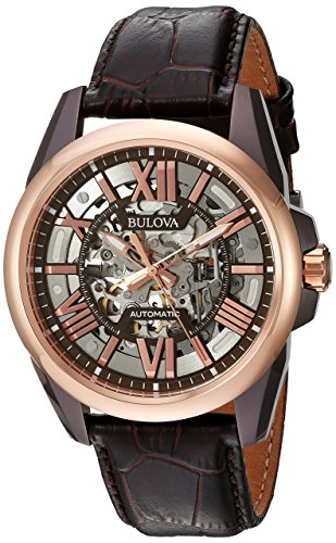 Bulova-Mens-Mechanical-Hand-Wind--(Model:-98A165)