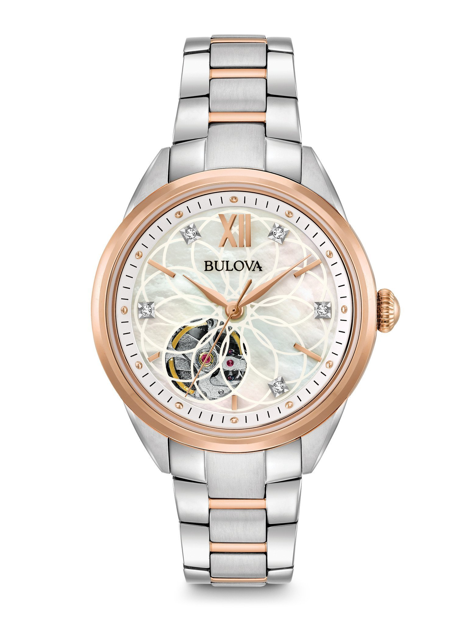 Bulova-Classics-Mother-of-Pearl-Diamond-Dial-Ladies-98P170