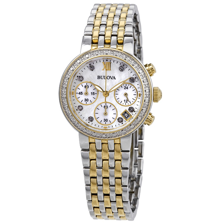 Bulova-Maiden-Lane-Chronograph-Diamond-Ladies-98R214