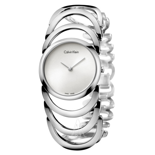 Calvin-Klein-K4G23126-Ladies-Body-Stainless-Steel-Bracelet-Watch-White-Dial