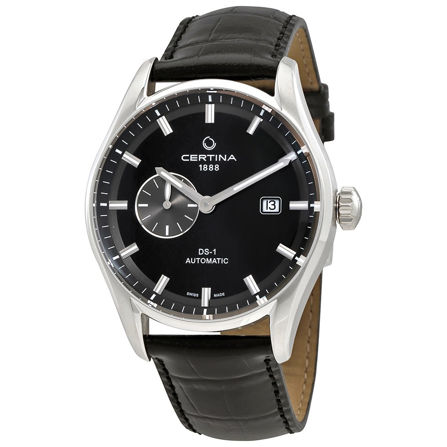 Certina-DS-1---Small-Second-Genuine-Black-Leather-Mens-Automatic-C006.428.16.051.00-(C006-428-16-051-00)