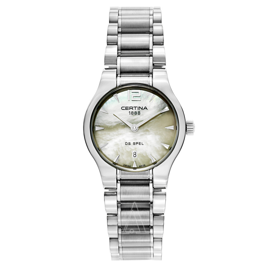 Certina-DS-Spel-Lady-Round-Stainless-Steel-Ladies-Quartz-C012.209.11.117.00-(C0122091111700)