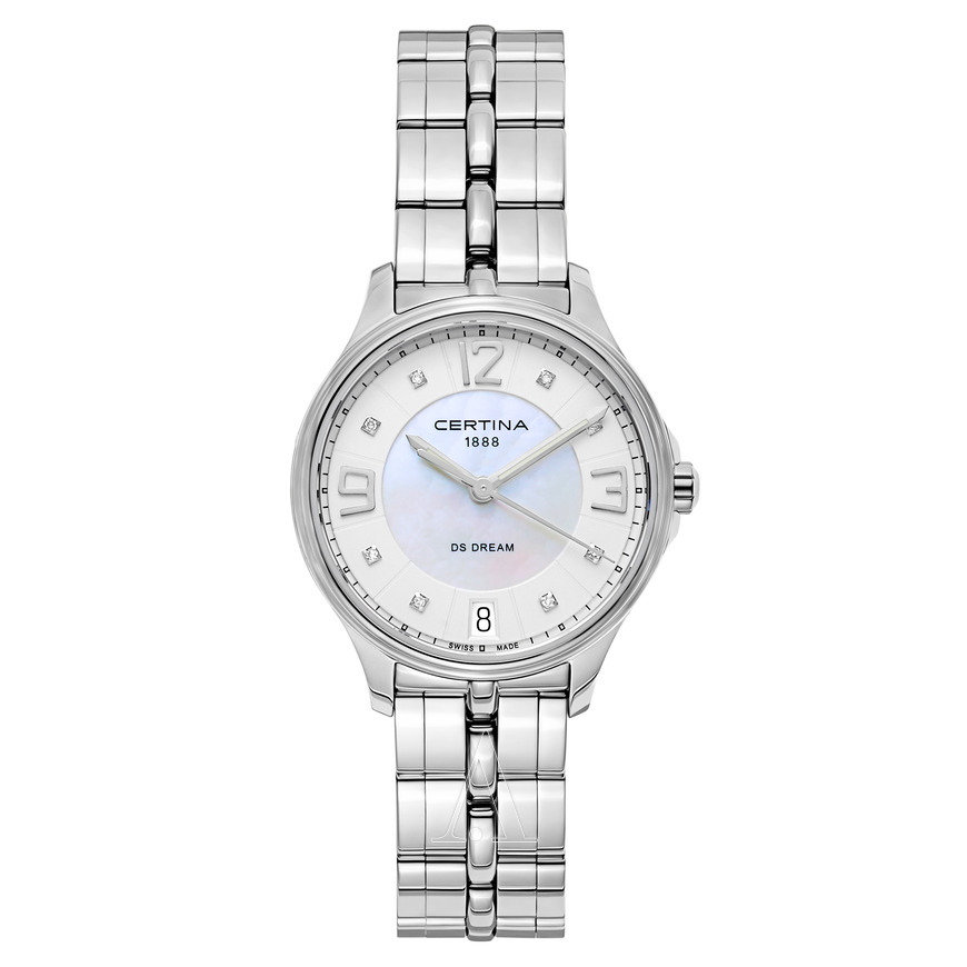 Certina-DS-Dream-Stainless-Steel-Ladies-Quartz-C021.210.11.116.00-(C0212101111600)