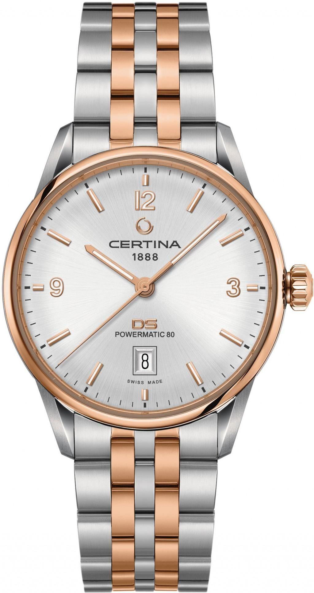 Certina-DS-Powermatic-Silver-Dial-Automatic-Mens-C026.407.22.037.00-(C0264072203700)