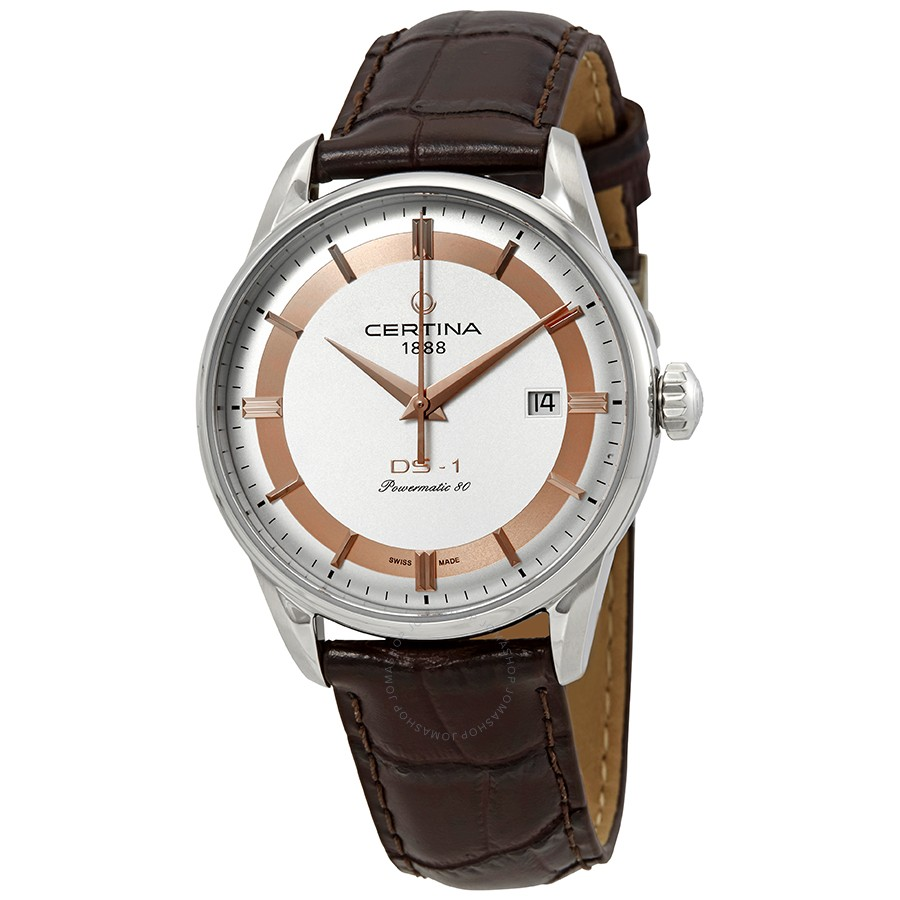 Certina DS-1 Automatic Silver Dial Mens C029.807.16.031.60 (C0298071603160)