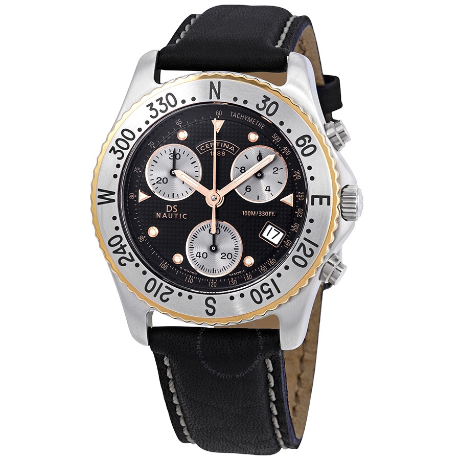 Certina-DS-Nautic-Chronograph-Black-Dial-Mens-C542-7018-44-61