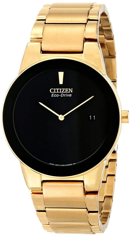 Citizen-Mens-Eco-Drive-Goldtone-Axiom-Chronograph-Watch-AU1062-56E
