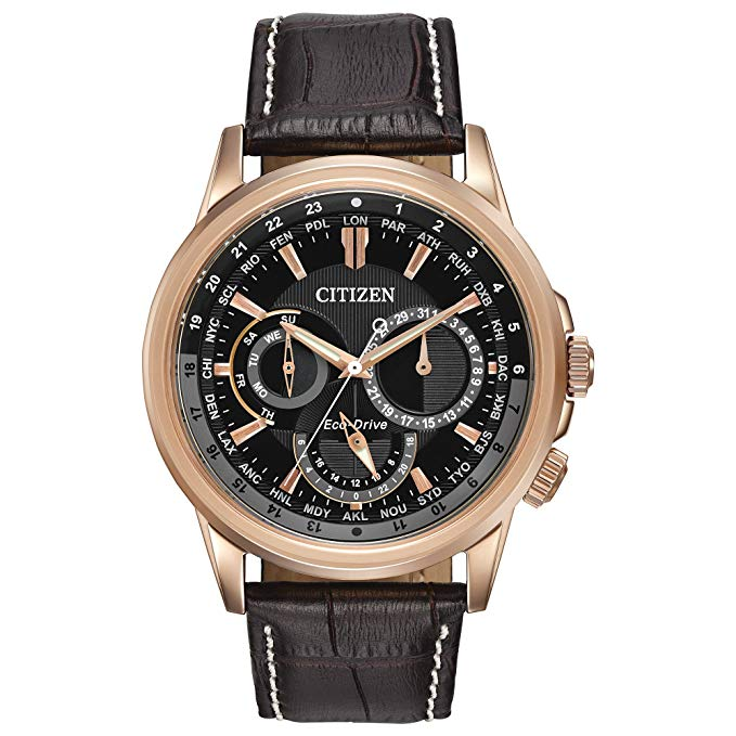Citizen Mens Eco-Drive Stainless Steel with Day/Date BU2023-12E