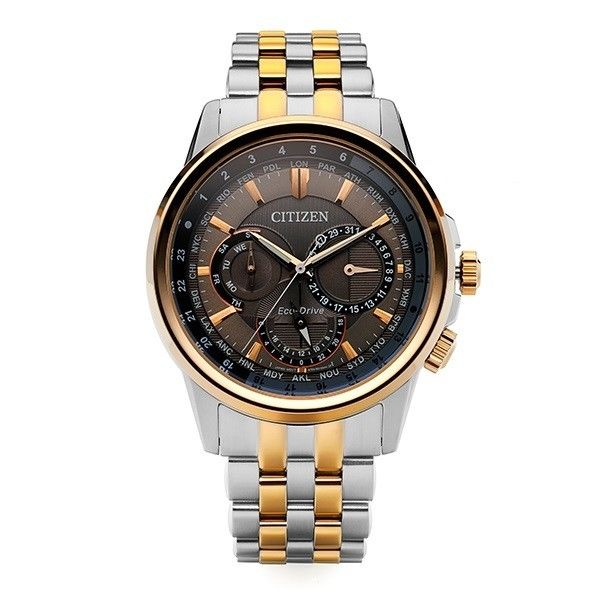 Citizen Eco-Drive Mens Stainless Steel BU2026-65H