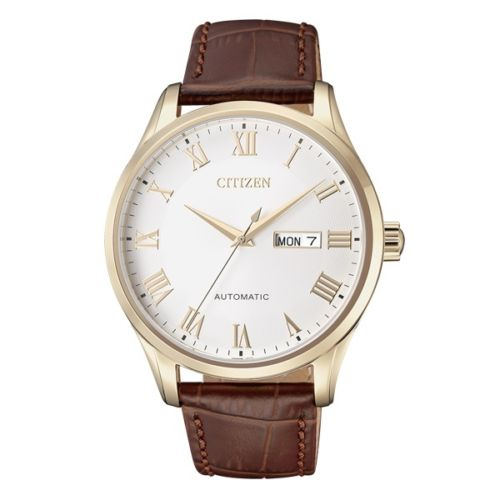 Citizen-NH8363-14A-Men-Automatic-Leather-Strap-Analog