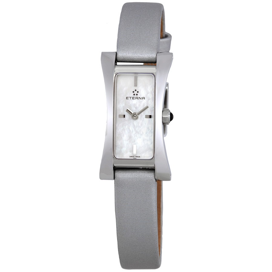 Eterna-Sahida-Mother-of-Pearl-Dial-Grey-Satin-Ladies-2610-41-11-1119-(261041111119)