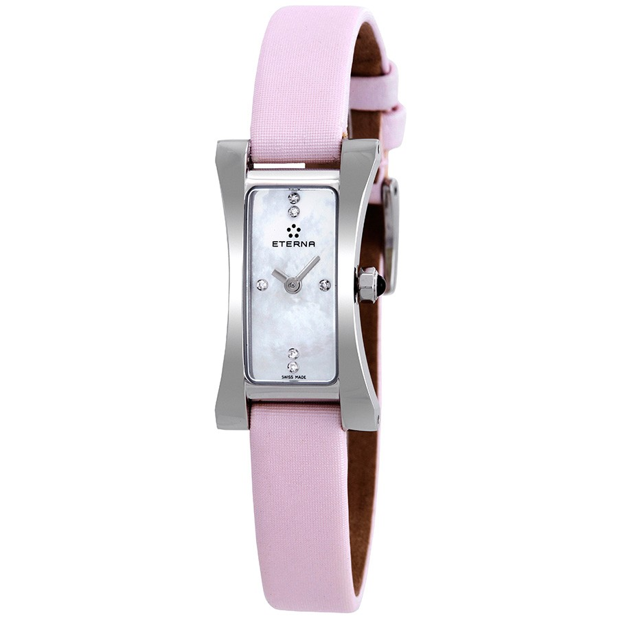 Eterna-Sahida-Mother-of-Pearl-Dial-Pink-Satin-Ladies-2610-41-17-1124-(261041171124)