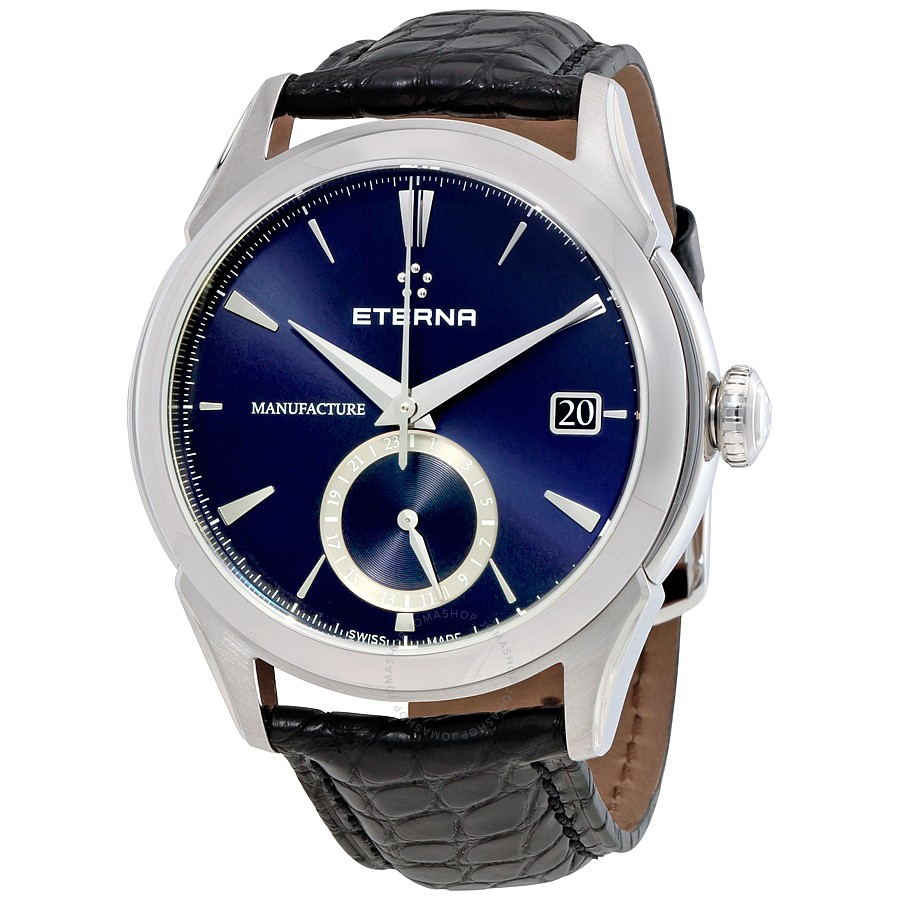 Eterna-1948-Legacy-GMT-Automatic-Blue-Dial-Mens-7680.41.81.1175-(768041811175)