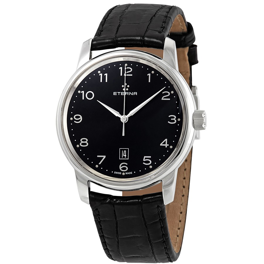Eterna-Soleure-Automatic-Black-Dial-Mens-8310.41.44.1175-(831041441175)