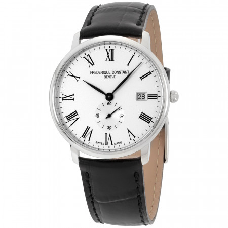 Frederique-Constant-Slimline-White-Dial-Mens-Leather-FC-245WR5S6