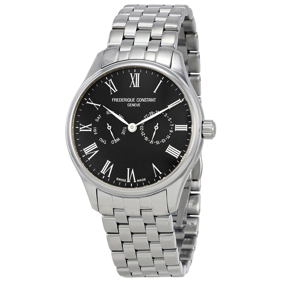 Frederique-Constant-Mens-Classic-Black-Dial-Bracelet-FC-259BR5B6B