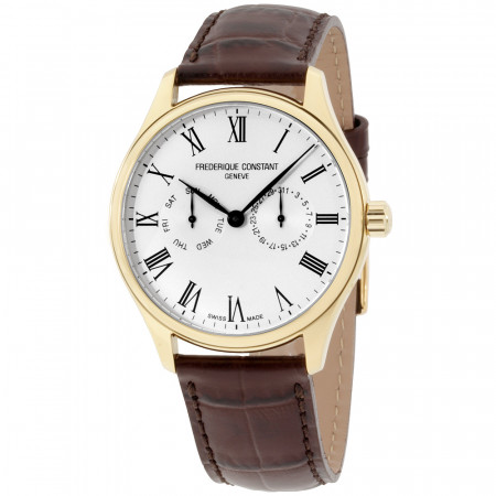 Frederique-Constant-Mens-Classic-Yellow-Gold-Leather-Strap-FC-259WR5B5