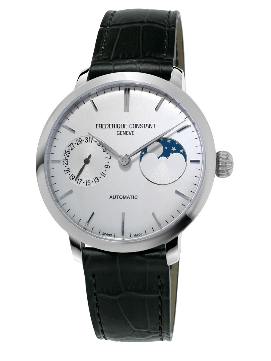 Frederique-Constant-Slimline-Moonphase-Automatic-Silver-Dial-Mens-FC-702S3S6