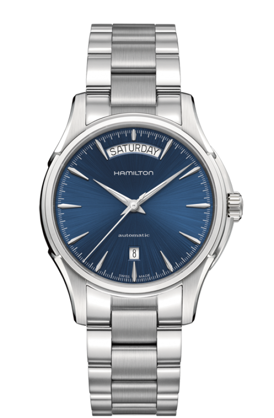 Hamilton-Jazzmaster-Automatic-Day-Date-Blue-Dial-Stainless-Steel-Mens-H32505141