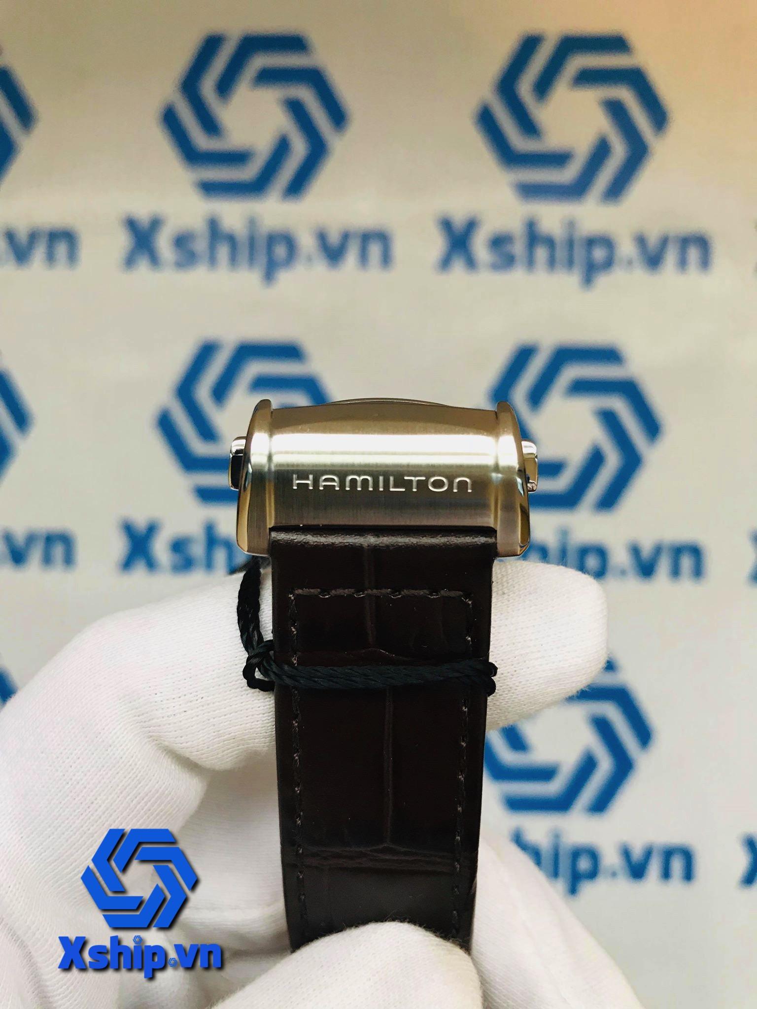 Hamilton Jazzmaster Open Heart Silver Dial Mens H32705551