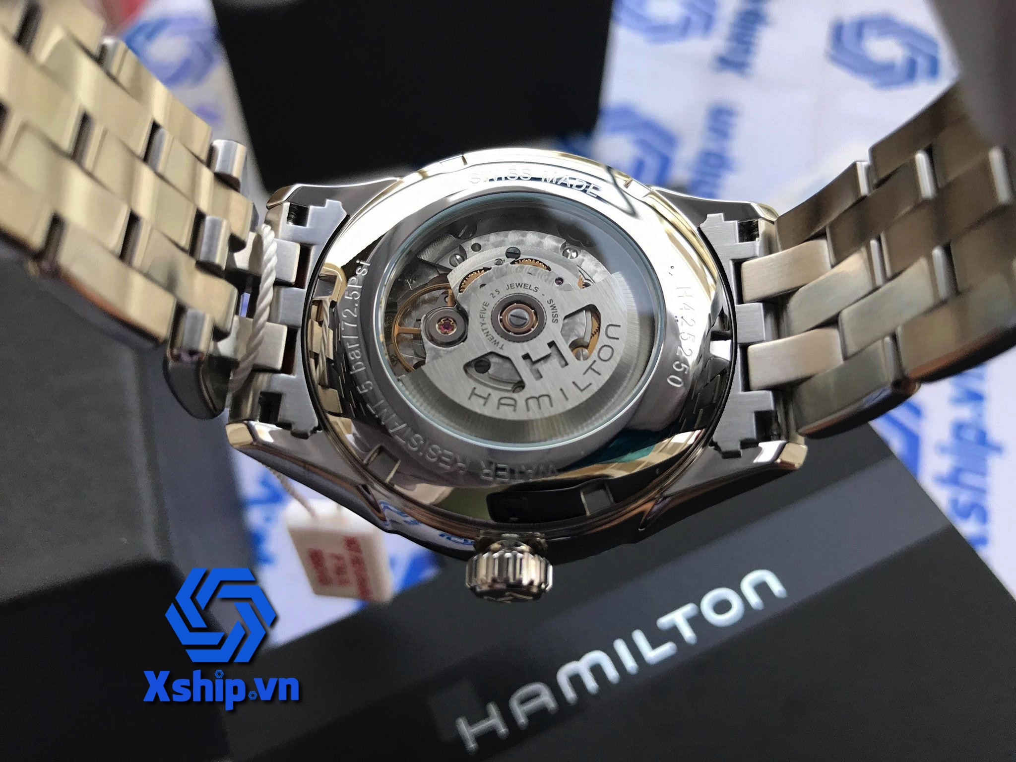 Hamilton Jazzmaster Date Day Automatic H42525251