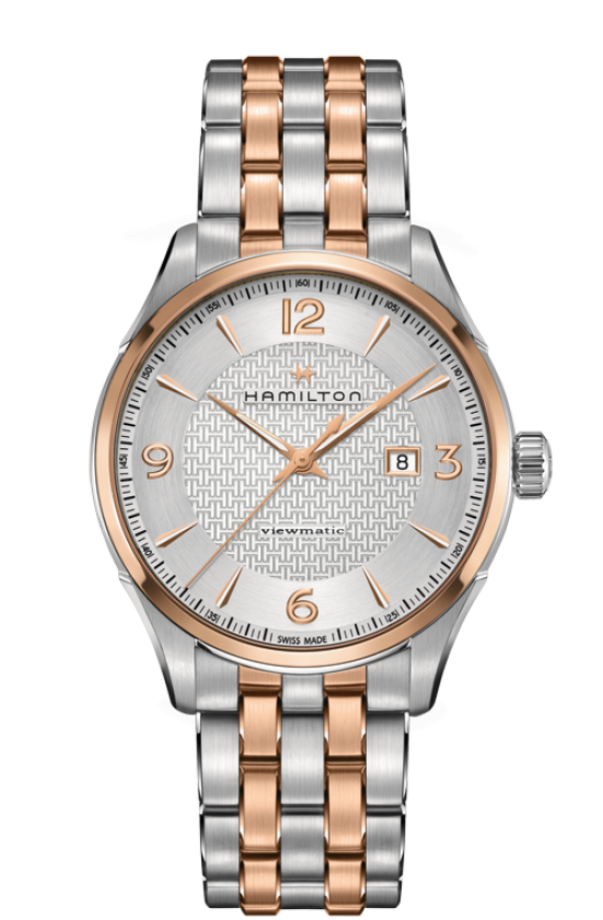 Hamilton-Jazzmaster-Viewmatic-Silver-Dial-Automatic-Mens-Two-Tone-H42725151