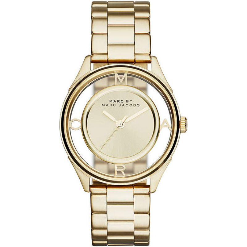 Marc-by-Marc-Jacobs-Womens-MBM3413-Tether-Gold-Tone-Bracelet