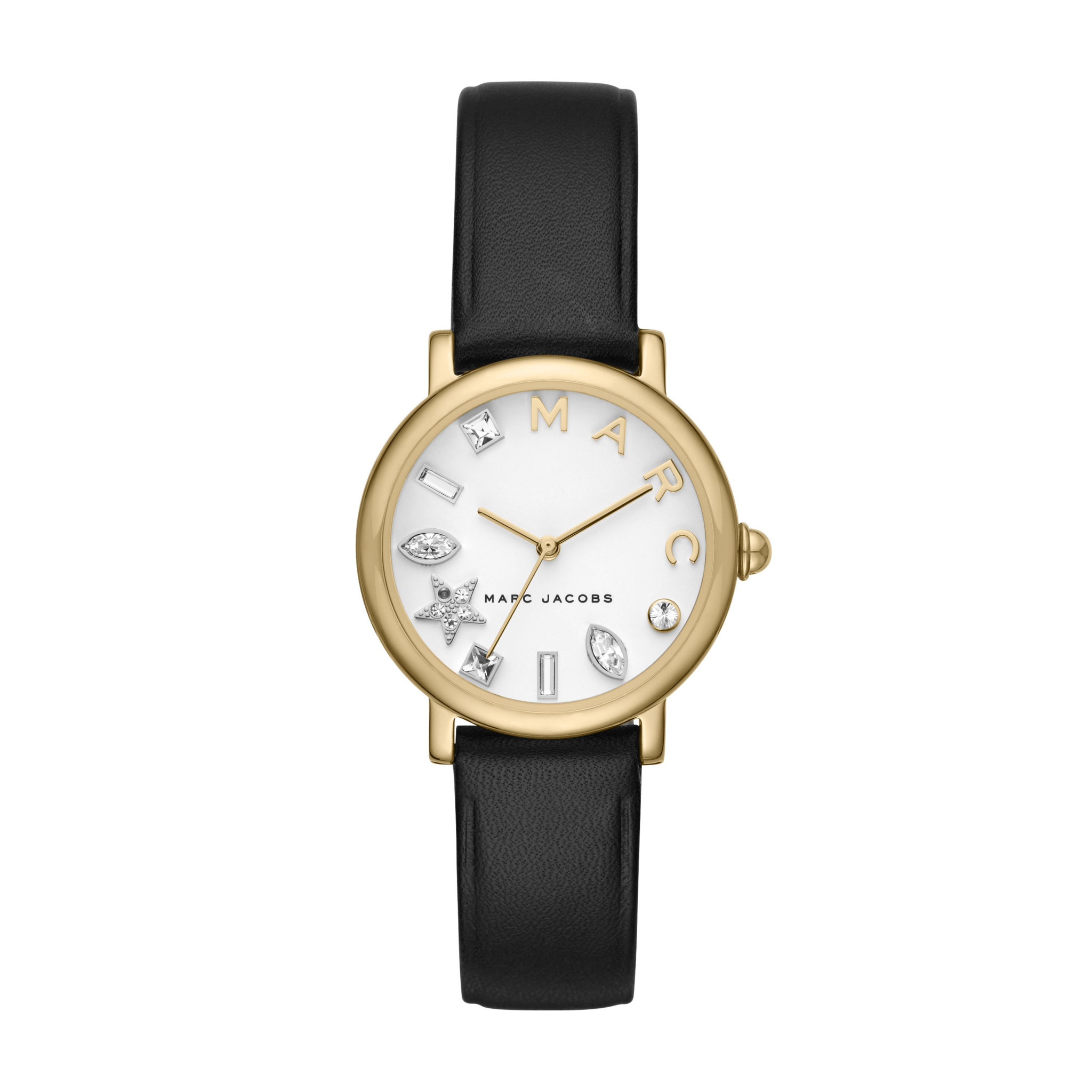 Classic-Gold-Tone-and-Black-Leather-Watch-MJ1600