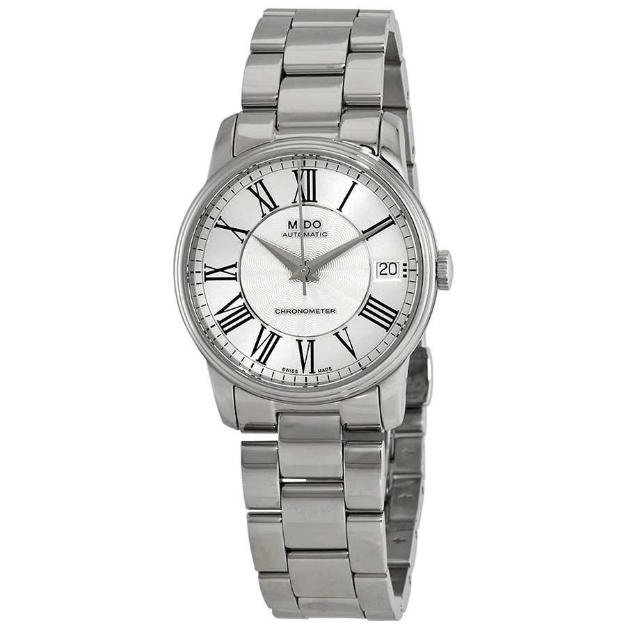 Mido-Baroncelli-Automatic-Silver-Dial-Ladies-M010.208.11.033.00-(M0102081103300)