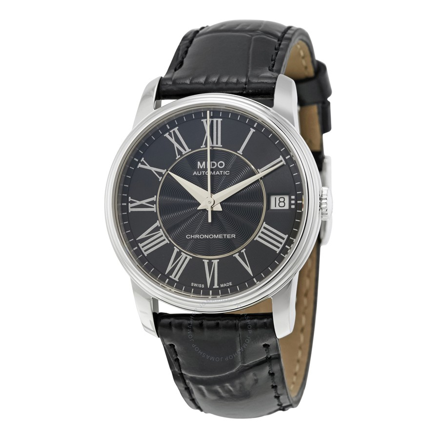 Mido-Baroncelli-III-Automatic-Black-Dial-Ladies-M0102081605320