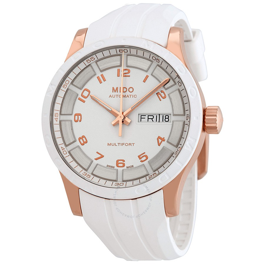 Mido-Multifort-Automatic-White-Dial-Unisex-M018.830.37.012.80-(M0188303701280)