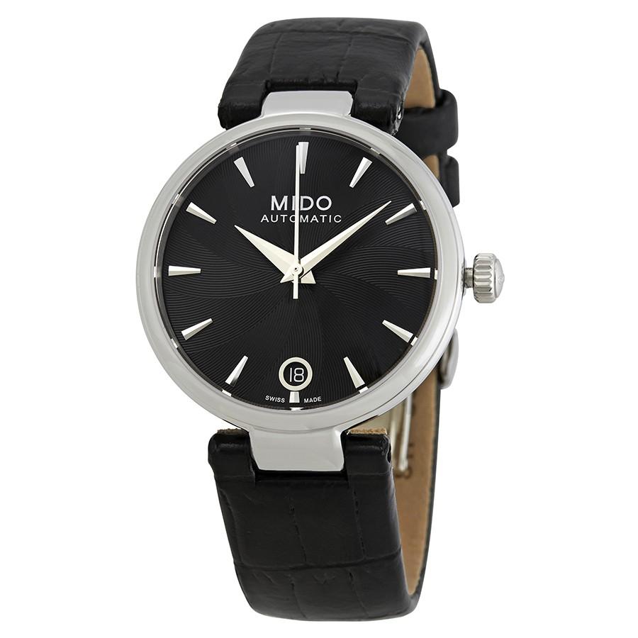 Mido-Baroncelli-Automatic-Black-Dial-Ladies-M022.207.16.051.10-(M0222071605110)