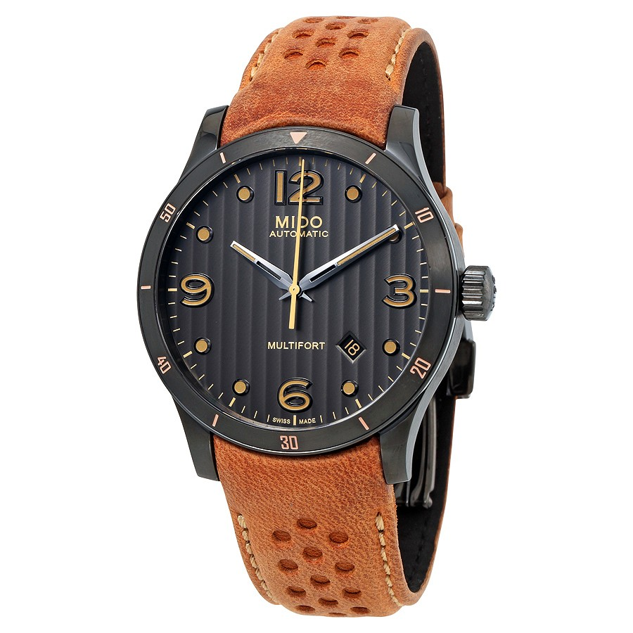 Mido-Multifort-Automatic-Anthracite-Dial-Mens-M025.407.36.061.10-(M0254073606110)