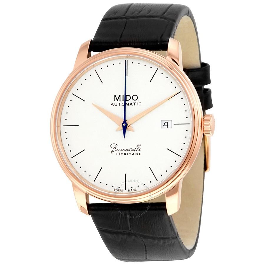 Mido-Baroncelli-Automatic-Black-Dial-Ladies-M027.207.36.260.00-(M0272073626000)