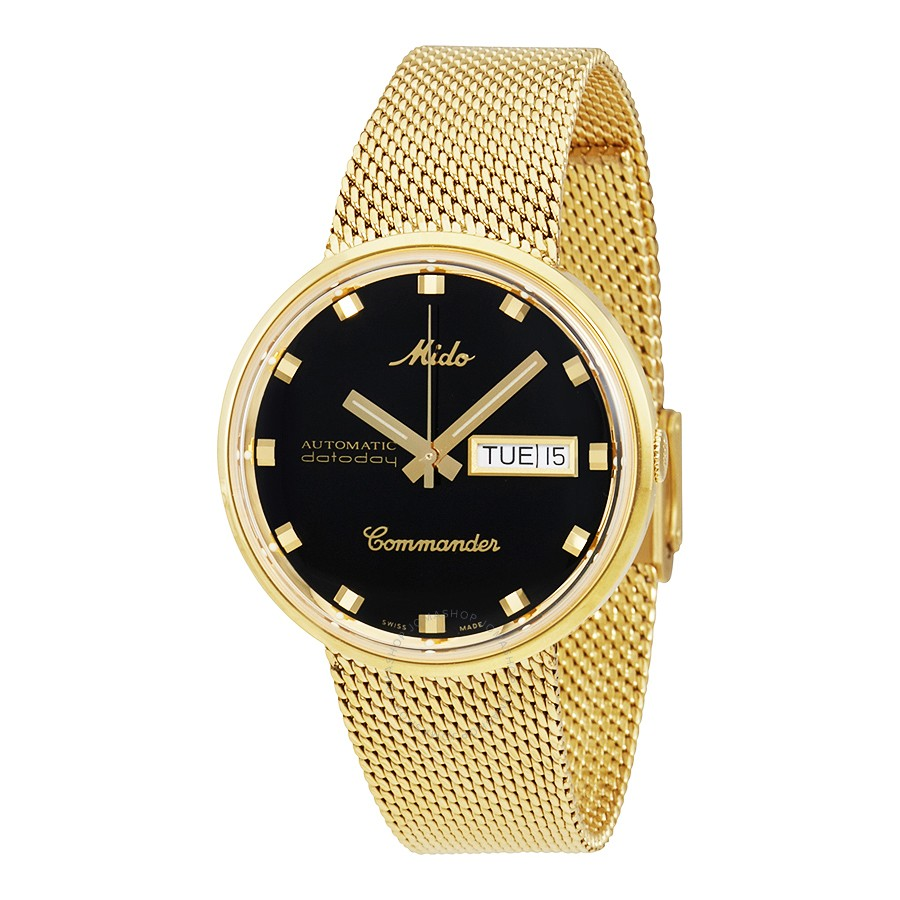 Mido-Commander-I-Automatic-Yellow-Gold-PVD-37-mm-Unisex-M842932813