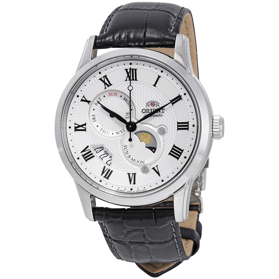 Orient-Executive-Sun-and-Moon-3-Automatic-White-Dial-Mens-FAK00002S0