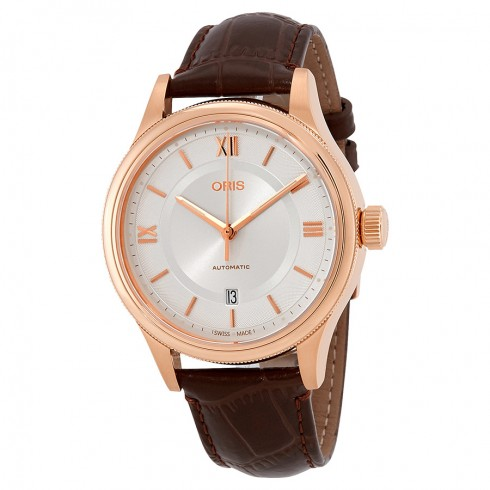 Oris-Classic-Silver-Dial-Automatic-Mens-Leather-01-733-7719-4871-07-6-20-32