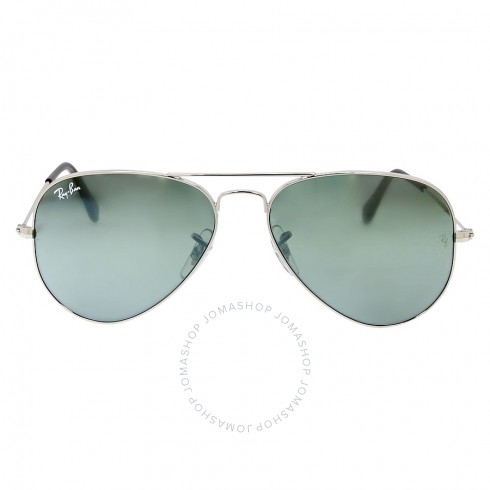 Ray-Ban-Aviator-55mm-Classic-Sunglasses-Silver-Mirror-RB3025-W3275-55-14