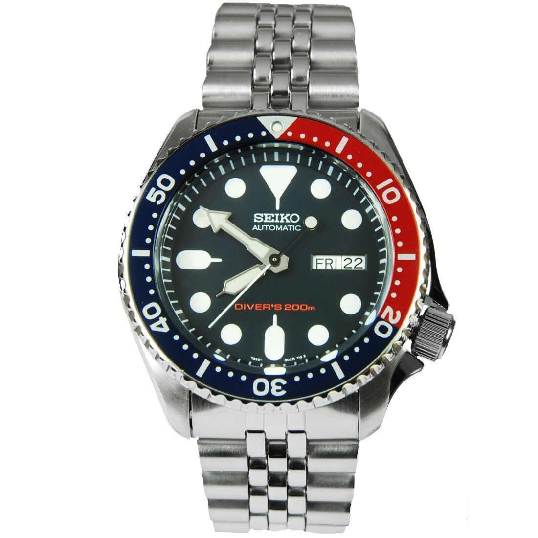 Seiko-SKX009K2-Divers-Automatic-Navy-Blue-Dial-Mens