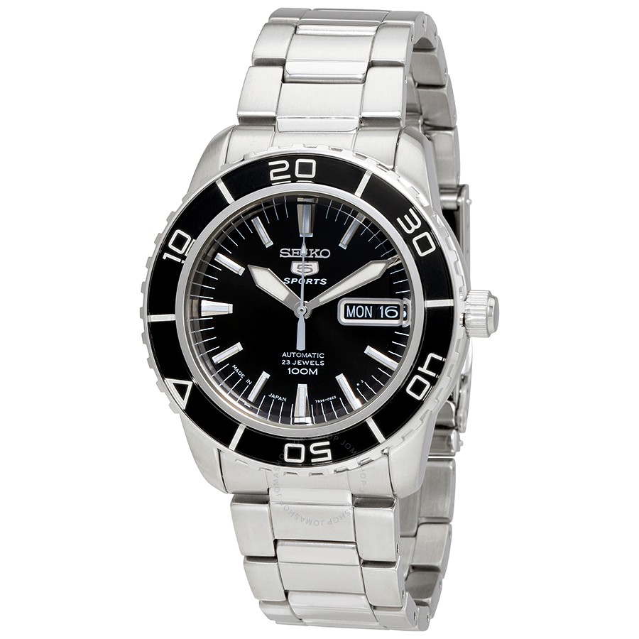 Seiko-Fifty-Five-Fathoms-Sports-Automatic-Black-Dial-Mens-SNZH55J1