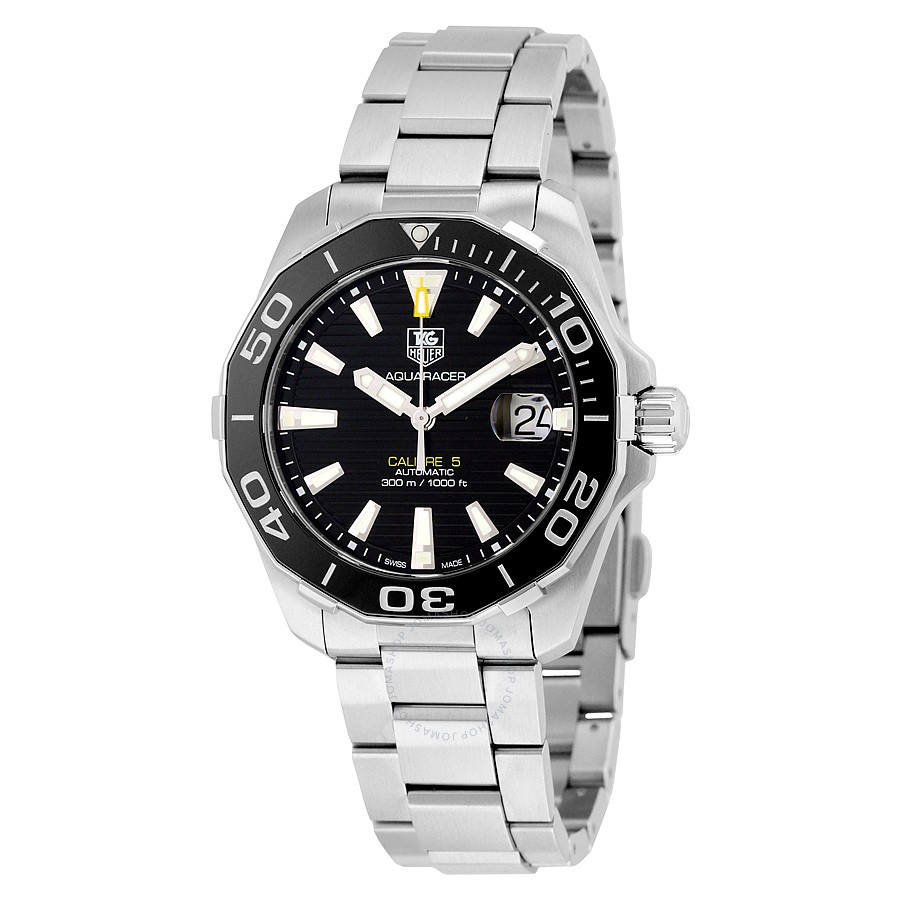 Tag-Heuer-Aquaracer-Automatic-Black-Dial-Mens-WAY211A.BA0928